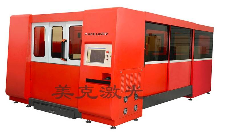 MK3015-Täiesti kinnised Metal Fiber Laser Cutting Machine Mis Interexchange tabelis