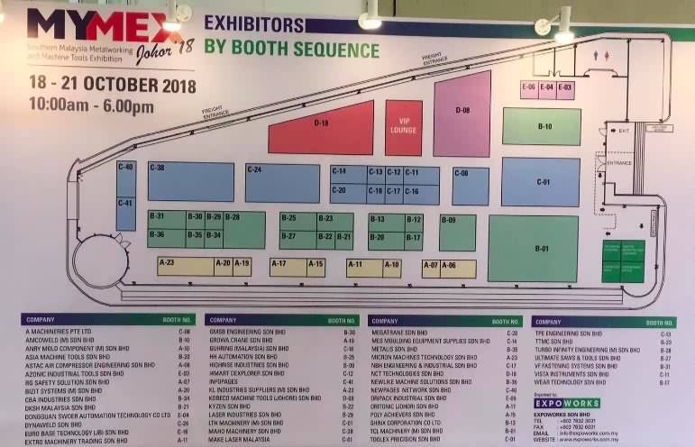 Make Laser Malaysia has attended the MYMEX MALAYSIA show from Oct 18th to 21st 2018