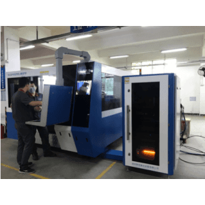 MK6523F- Enclosed  Fiber Laser Cutting Machine With Interexchange table