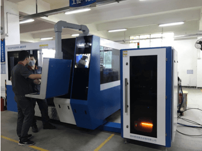 2017 China New Design 1325 Co2 Laser Cutting Bed -