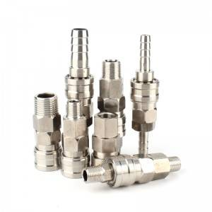 Reasonable price Stainless Steel Quick Disconnects - Air Coupler Quick-Connect Stainless Steel 304 – CHUTUO