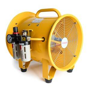 PriceList for Axial Fan - Pneumatic Portable Ventilation Fan Explosion-Proof – CHUTUO
