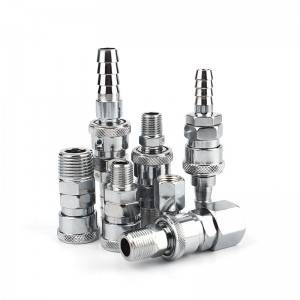 Trending Products Pneumatic Air Push To Connect Fitting - Air Coupler Quick-Connect Steel – CHUTUO