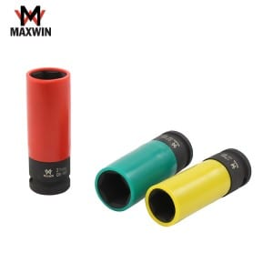 Quality Inspection for Drive Long Metric Deep Impact Socket -