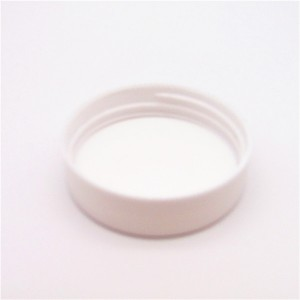 MBK packaging 2oz 60ml white glass herb jar with white ABS lid