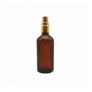 MBK 100ml Glass Essential Oil Bottle With Golden  Sprayer