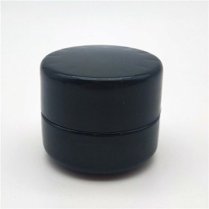 MBK Packaging 3ml  Violet black concentrate container with childproof lid