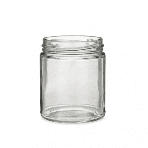 8OZ Clear Straight Side Glass Jar MBK Packaging