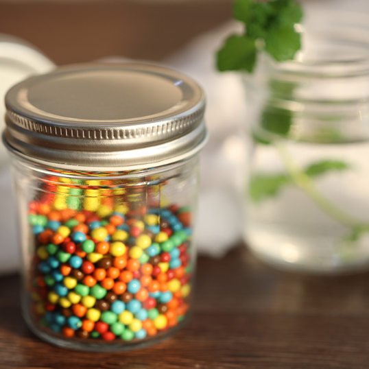Mini 120ml Gl Candy Jar