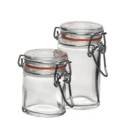 Air 50ml Small Gl Jar Clip Lid