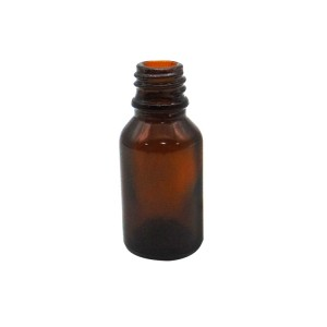 MBK 15ML Amber Glass Medicine Bottle