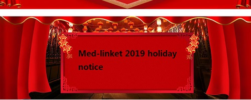 Med-linket 2019 holiday notice