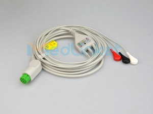 Medlinket  DATEX Compatible Direct-Connect ECG Cables