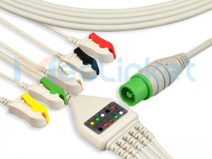 Medlinket FUKUDADENSHI Compatible Direct-Connect ECG Cables