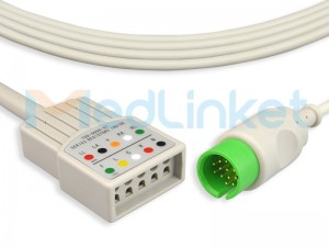 Medlinket SPACELABS Compatible Direct-Connect ECG Cables