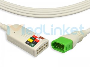 Medlinket Mindray Compatible Direct-Connect ECG Cables