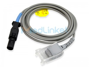 Medlinket M&B Compatible SpO2 Extension Adapter Cable