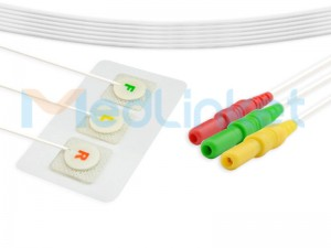 Disposable Radiolucent ECG Electrode V0015-C0243I