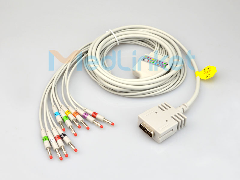One-Piece Series EKG Cable With Leads Featured Image
