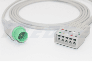 Spacelabs Trulink Shielded EKG kabel 5 Olovo 700-000-806