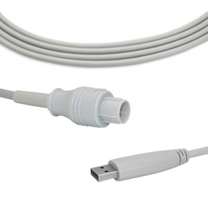 Nihon Kohden IBP Cable To USB Transducer B0909