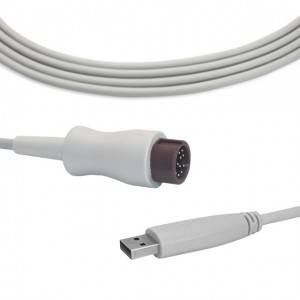 Mindray IBP cable USB a l'transductor, B0912