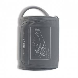 NIBP Cuff with bag, Nylon Grey, Single tube BE-102