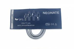 Neonate Blood Pressure Cuff, double tube, C6321