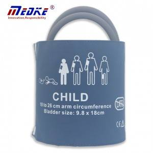 Pediatric tubo duplo 18-26cm Cuff C6621