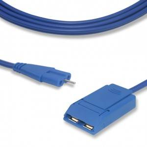 "Grounding Pad Cable CP1006B, ""8″ shape connector"