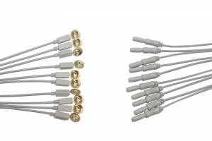 Universal EEG cable,Cup EEG electrode and cord E0001