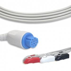 Artema-S/W ECG Cable With 3 Leadwires AHA G3103P