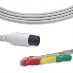 Comen ECG Cable With 3 Leadwires IEC G3232P