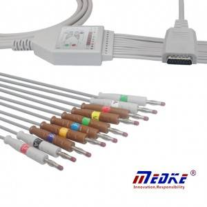 Mortara EKG Cable ကို, အေ့ဟေ, Fixed Banana K1109B