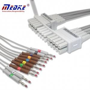 Mortara 10-Lead EKG Leadwires AHA, K114MT