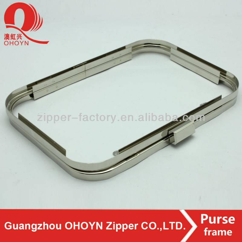 professional manufacturer clutch bag metal frame for purse