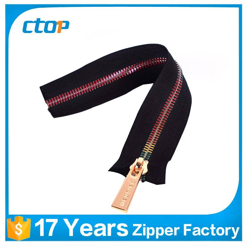 china alibaba guangzhou rainbow teeth zipper