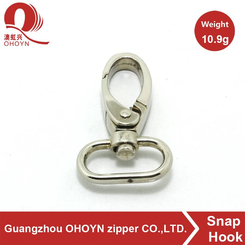 New metal clip swivel snap hook for bag