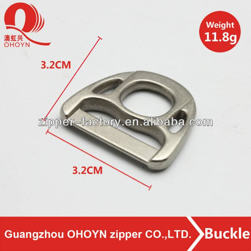 2014 High quality metal bag buckle factory directly sale zinc alloy buckle