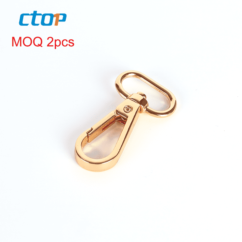 high end handbag hardware swivel snap hook metal snap hook for bags