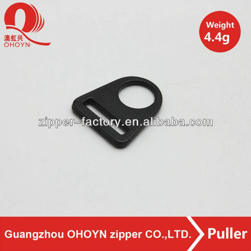 wholesale fashion black bag accessory plastic buckle