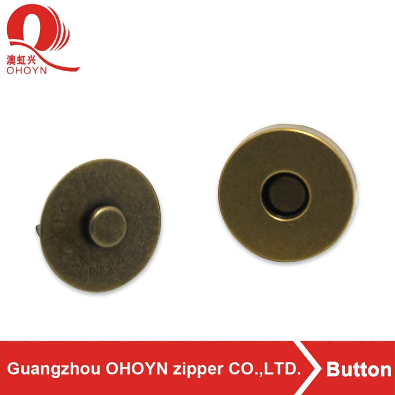 2017 Hot selling high quality magnetic snap buttons for clothing