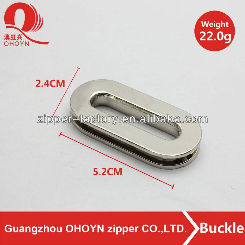 Factory sale fashion belt buckle for bag parts