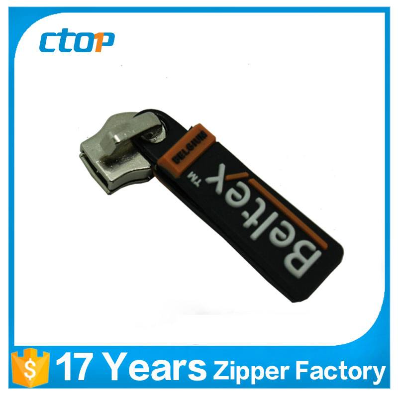 Hot selling custom top quality Special zipper plastic puller metal Slider for bag