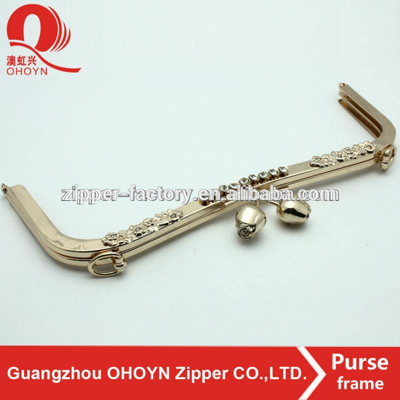 guangzhou factory purse frame metal closure