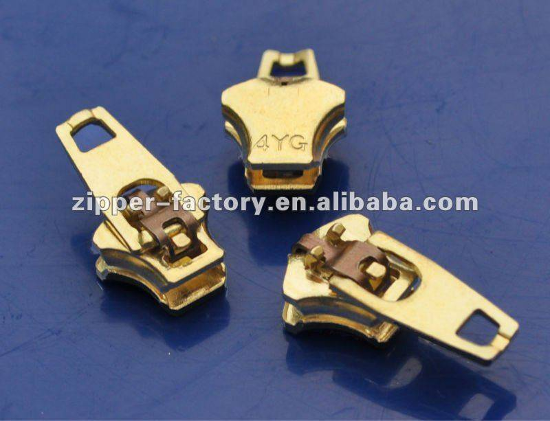 4YG(No.4) brass non-magnetic double lock spring lock slider
