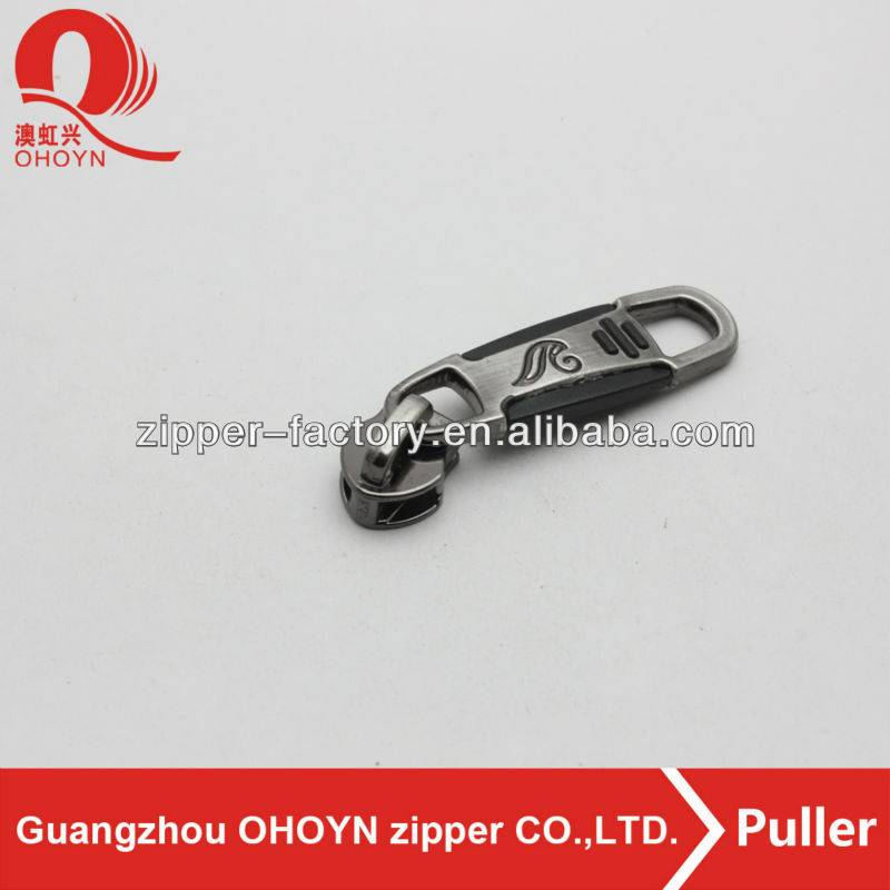 Fancy Different finished zipper slider pull No.215D0214