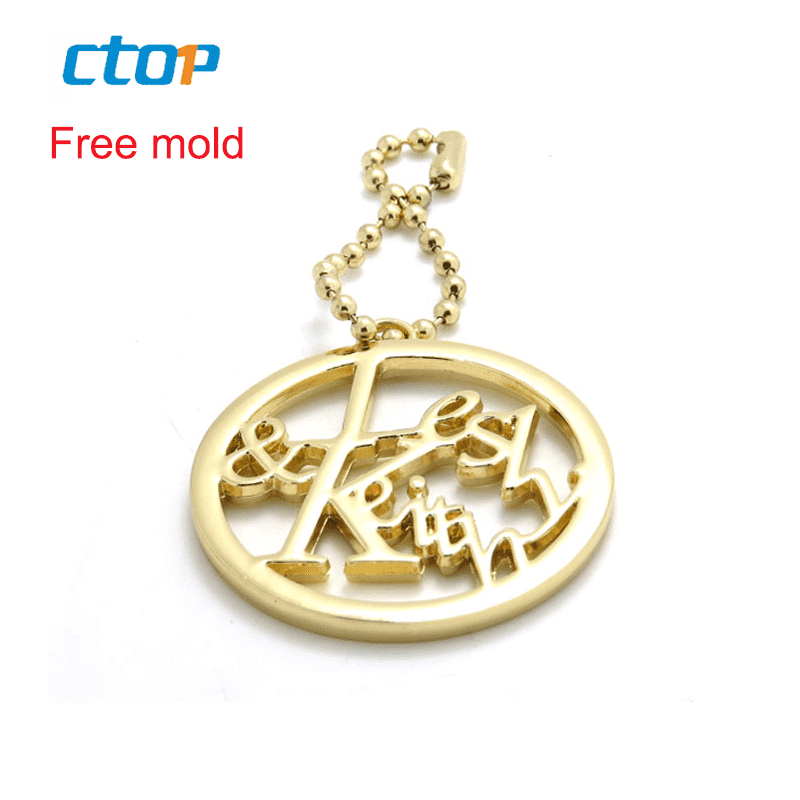 Handbag accessories decoration tag metal plate logo custom metal logo plate for handbags