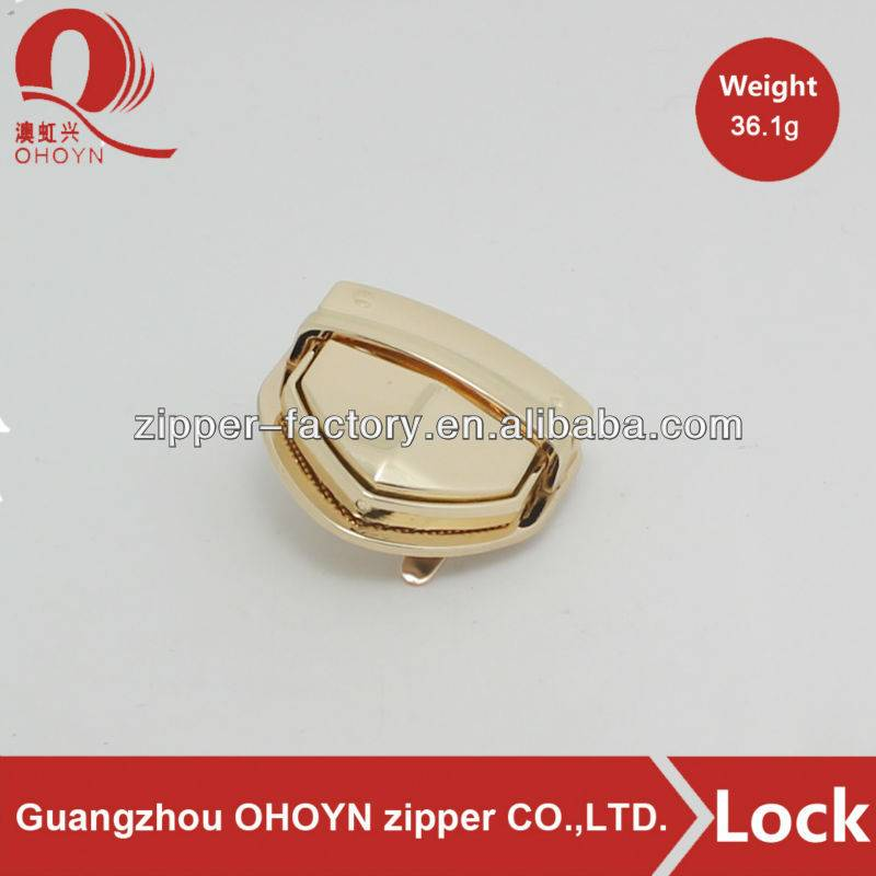 Professional Manufacturer custom handbag twist lock