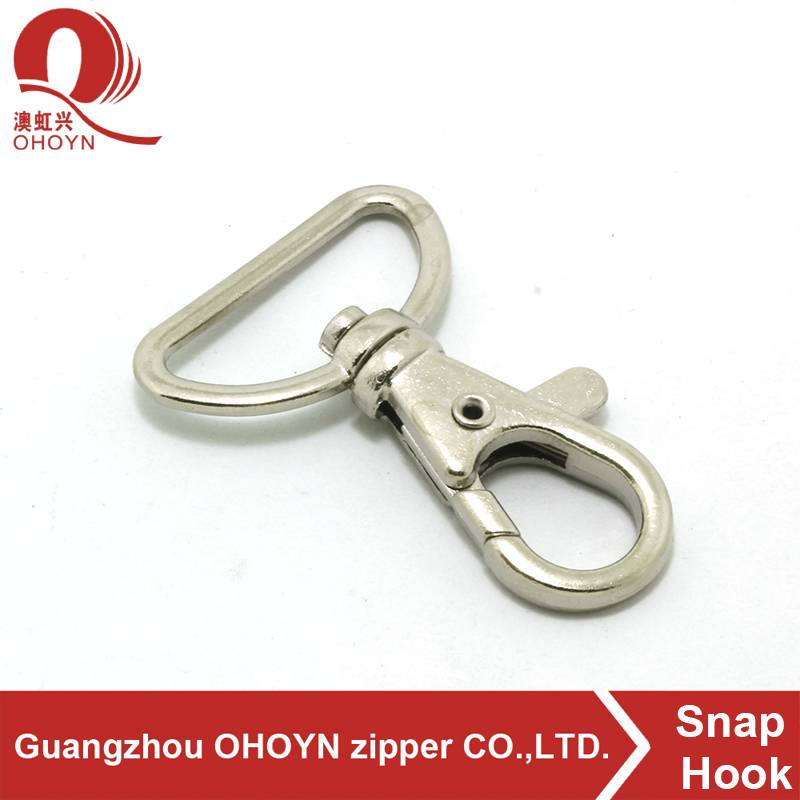 custom plating snap metal shaped hanger stainless steel s hook